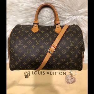 Authentic Louis Vuitton Speedy 30 Tote #4.3K